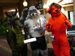 Wallaby, Bleis, and Red XIII
