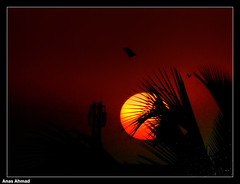 Sundown Over North Karachi (Anas Ahmad) Tags: pakistan sunset art sundown north ahmad karachi ahmed anas 11a flickrsbest northkarachi aplusphoto anasahmad anasahmadphotography