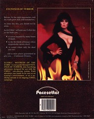 Evenings of Terror with Elvira back cover