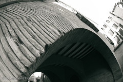 Un arco que se curva (Berts @idar) Tags: zaragoza photowalk 8mm fz peleng espaa peleng8mmfisheye canoneos400ddigital xatakafoto pendientesdeetiquetar ¹⁄₂₀₀sec photowalkxfzaragoza
