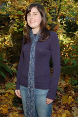 Easy Moonlight Lattice Scarf almost full length shot