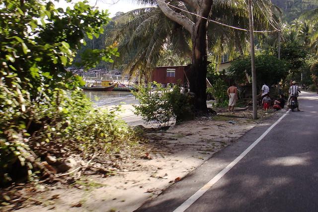 Pangkor Island road