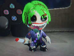 Joker sackboy little big planet (celteen) Tags: dark big little planet joker knight ledger leath lbp sackboy