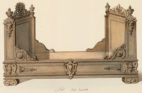 005-Cama estilo Luis XIV
