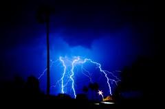 AZ Lightning (MrBall) Tags: arizona storm phoenix night digital canon rebel timelapse long exposure wideangle lightning canonefs1022mmf3545usm xti