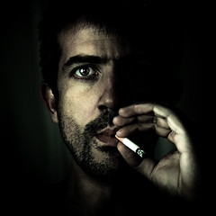 100.000 views. Thanks. (Stphane Giner) Tags: portrait man france thanks square french cigarette homme stephane giner cigaret carre coolshot carrfranais
