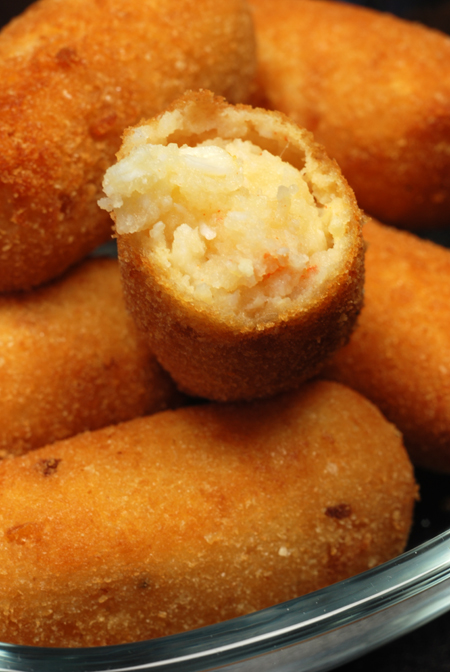 Spanner Crab Croquettes© by Haalo