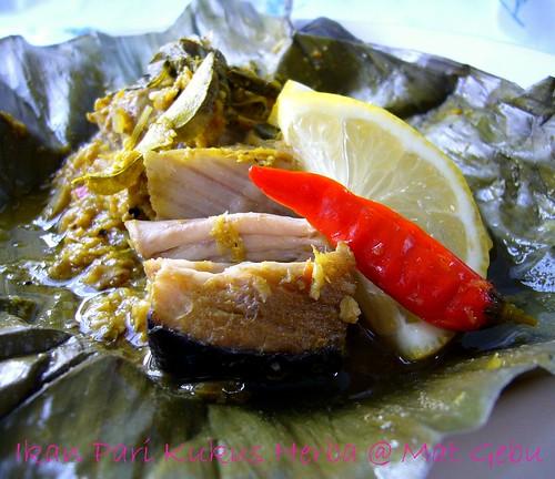 Ikan Pari Kukus Herba