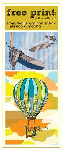free prints: