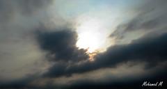 Dark Sky...   (2) (-Mohamed-) Tags: city sky urban tower glass skyscraper al noir cloudy kingdom ciel saudi arabia nuage riyadh moder riyad nuageux urbanisation nakheel arabie anoud saoudite