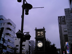 【写真】Clock tower (izone 550)