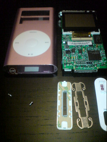iPod mini メンテナンス中