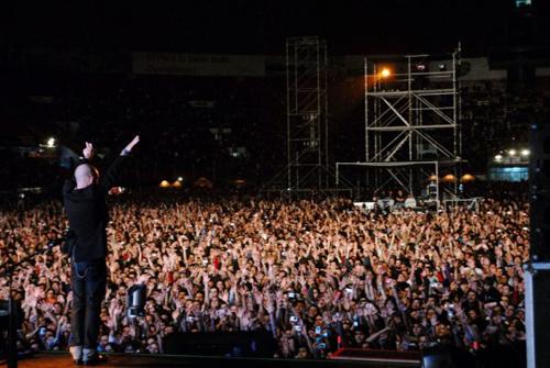 R.E.M. Concierto Lima Hot Festival Peru
