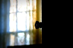 Darkness or Light (Whisperawish) Tags: door light window beauty dark warmth choice knob decision freewill