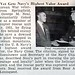 Ohio Korean War Veteran, George M. Neal, Gets Navy's Highest Valor Award - Jet Magazine, December 29, 1955