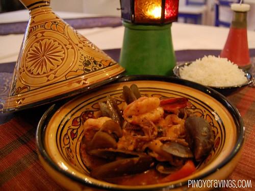 Kasbah Boracay Seafood Tangine 2