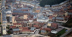 Poundbury aerial (by: John E. Lamper, creative commons license)