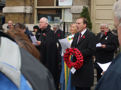 At Remembrance Service