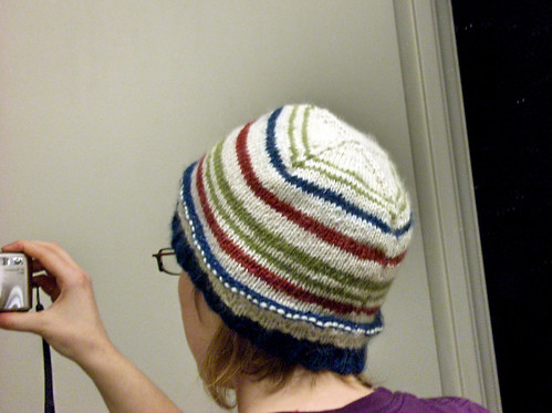 striped hat for Chris