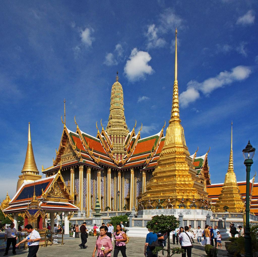 關於昨日: 2008 曼谷 大皇宮(Grand Palace)、玉佛寺(Wat Phra Kaeo) 之 碧隆天神殿 ...