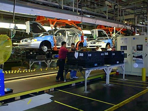 nummi28 NUMMI Assembly Plant Tour, Fremont CA 2000