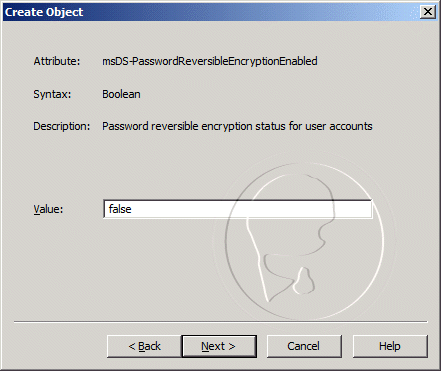 msDS-PasswordReversibleEncryptionEnabled