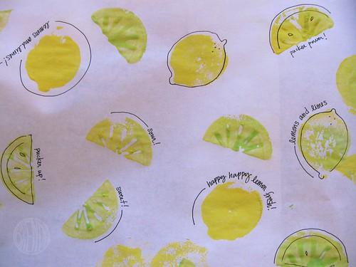 lemon paper!