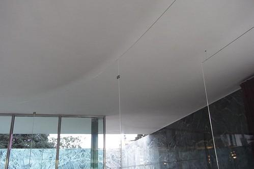Installation at Barcelona Pavillion by SANAA