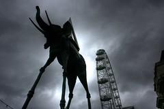 Dali and the Eye (Gilmour-Photography) Tags: london londoneye milleniumwheel dali salvadordali salvadordaliexhibition