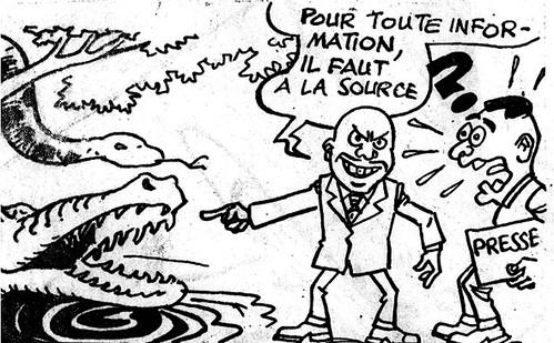 Liberté de la presse en RDC by Congo Blog.