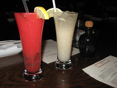 Kampuchea Restaurant: Watermelon juice and Lychee fizz
