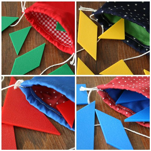 inside tangram pouches