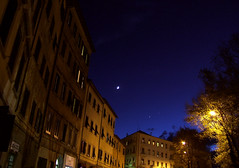 Ombre Cinesi. E i Pianeti Stanno a Guardare (Ushu@ia) Tags: city moon night lights shadows venus luna ombre luci jupiter distillery venere citta notturno pianeti giove fiatlux theperfectphotographer