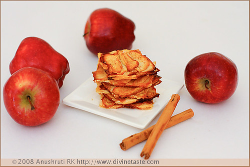 Apple and Cinnamon Phyllo Slices