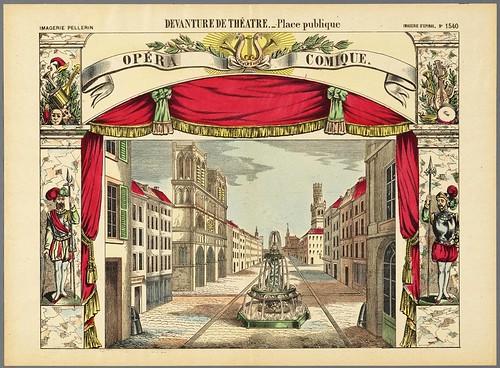 011-Fachada y decoración de una plaza publica