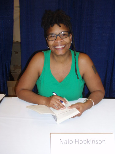 Author Nalo Hopkinson at WorldCon 2009.