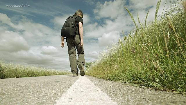 Caminando en una linea recta