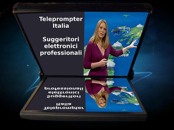 Teleprompter a specchio speciale - modello televendite