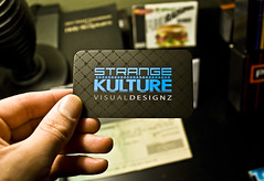 Strange Kulture Rounded Spot UV Business Card (StrangeKulture) Tags: photoshop graphicdesign cyan illustrator sk businesscard custombusinesscard coolbusinesscard uniquebusinesscard simplebusinesscard strangekulture