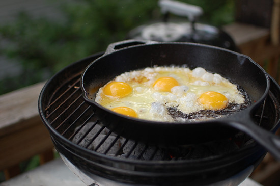 camping breakfast redo