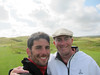 Erik and Jacob at Lahinch