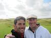 Erik and Jacob at Lahinch