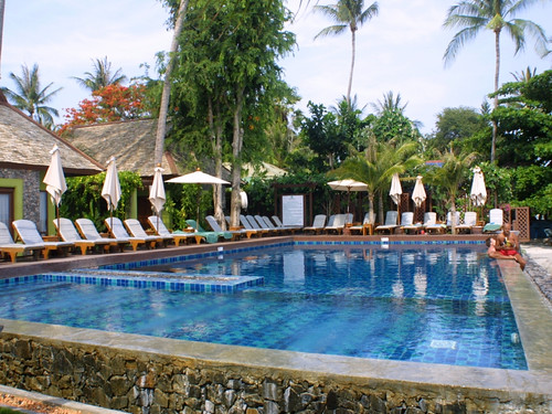 サムイ島-Baan Haad Ngam Boutique Resort-pool0011