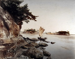 Matsushima, Inland Sea (ookami_dou) Tags: japan vintage  handcolored  inlandsea matsuahima