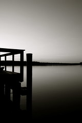 Dusk On The River (Baab1) Tags: blackandwhite nature water monochrome landscapes shadows dusk piers sunsets maryland rivers minimalism breathtaking scenics smorgasbord patuxentriver southernmaryland postals minimalistphotography calvertcountymaryland the4elements platinumphoto aplusphoto naturewatcher platinumphotograph betterthangood theperfectphotographer mailciler huntingtownmaryland lowermarlboromaryland ilovemypics qualitypixels