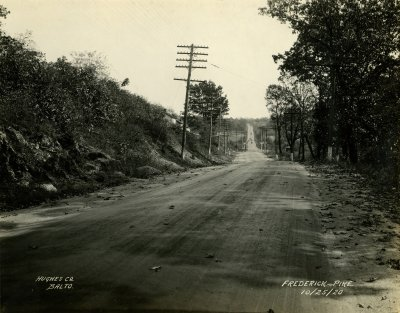 Frederick Pike  west of Mt. Airy