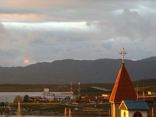 Amanecer en Ushuaia