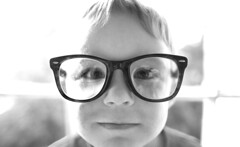 boy blackandwhite bw black wearing glasses blackwhite comic child little 10 framed over large william fav20 eyeglasses sized fav10 fav25 gettyartistpicksoct09