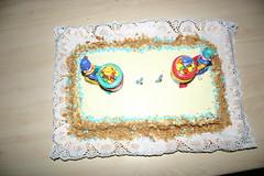 Torta 2 anni (Ricettesegrete.it) Tags: tommaso compleanno crema pandispagna