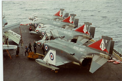 Phantom HMS ARK ROYAL (romft R09) Tags: arm air navy 1978 phantom fleet 1977 ark hms royalnavy fleetairarm hmsarkroyal seniorservice hmsarkroyalr09
